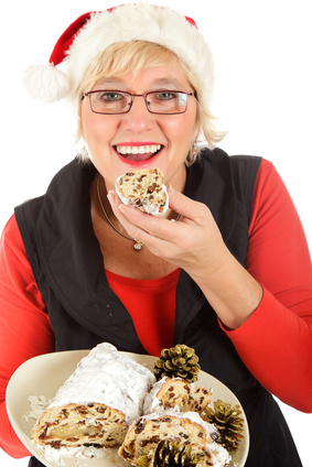 Woman Over Eating